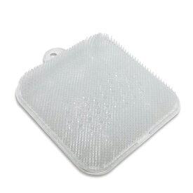 健康 足洗いマット 足裏 ブラシ 風呂 角質 軽石 汚れ 清潔 血行促進 刺激 リラックス コンパクト tecc-asiwash02