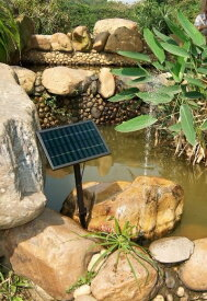 [電気代0円]ソーラーパネルで省エネ仕様 お庭の噴水や池でも使えるソーラー池ポンプ ソーラー充電 屋外 防水 循環 人気の FS-SP002-B の後継機 dar-sp004b 水量切替 LED付