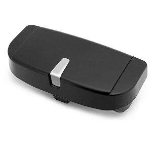 サンバイザー取付 車載メガネホルダー サングラス 収納 ボックス 車用 メガネ収納 ケース 小銭 カードtecc-glabyzer