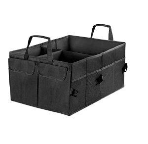車用収納 ボックス トランク 収納 折り畳み式 収納ケース 車用ポッケト 防水 大容量 使用便利 シートバックtecc-carbox5