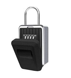 キーボックス 鍵の共有に ダイヤル式 合鍵 鍵 カード シェア 屋外 防水カバー付 収納 壁掛け 南京錠 dar-keybox01
