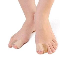 足 親指 ジェルパッド 左右兼用2個セット 外反母趾 サポーター スペーサー 人差し指 隙間 ソフト ジェル製 痛み 軽減tecc-oyajpad