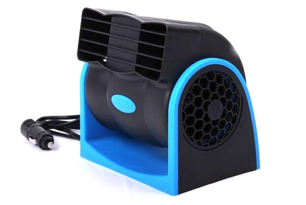 【送料無料】12V 車載ファン エコ シガー電源 角度調節 風量調節 車 扇風機 車中泊グッズ 帰省 ドライブ サーキュレーター TEC-FAN01D