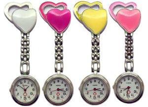 ナースウォッチ 送料無料 [メール便発送] 時計 クリップ式 おすすめ かわいい お手軽 おしゃれ dar-nwatchhart