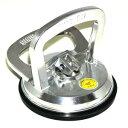 吸盤 強力 DIY 最高吸着50kg 強力吸盤 ハンド 車の ヘコミ直し へこみ 荷物 運搬 シルバー 吸盤直径約12cm TEC-LIF…