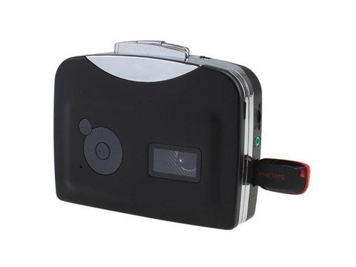 【送料無料・一部地域除く】パソコン不要♪カセットテープの音源をmp3に変換するプレーヤー MP3デジタル化するカセットプレーヤー コンバーター DFS-UW200