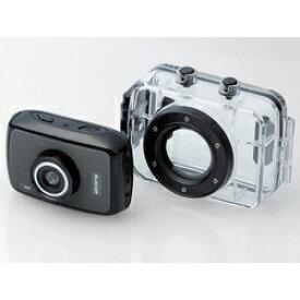 エレコム アクションカメラ ACAM-H01SBK (HD画質)