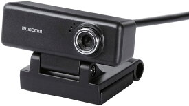 エレコム 高画質200万画素Webカメラ  UCAM-C520FBBK [ブラック]