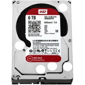 Western Digital 3.5インチ内蔵HDD WD60EFRX (6TB SATA600) 代理店1年保証