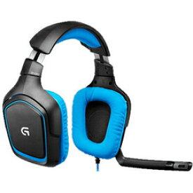 ロジクール ゲーミングヘッドセット G430 Surround Sound Gaming Headset [ブラック・ブルー]