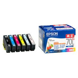 エプソン インクカートリッジ IC6CL70L [6色セット](増量タイプ)