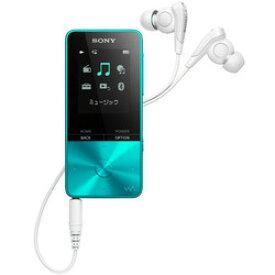 ソニー ウォークマン Sシリーズ NW-S313 L (ブルー 4GB)