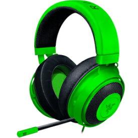 Razer ゲーミングヘッドセット KRAKEN GREEN [グリーン] (ミニプラグ接続 ケーブル長:1.3m)