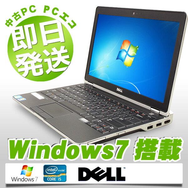 中古ノートパソコン DELL 中古パソコン 大容量バッテリー Latitude E6230 Core i5 訳あり 4GBメモリ 12.5インチ Windows7 MicrosoftOffice2013 【中古】 【送料無料】