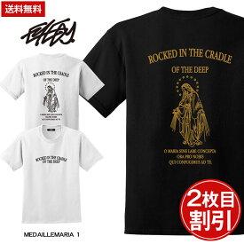 送料無料 大きいサイズ メンズ Tシャツ 半袖 3L 4L Tシャツ 5L LL XL XXL XXXL XXXXL 半袖Tシャツ デザイン プリント Tシャツ 半袖 かっこいい おしゃれ 人気 安い ブランド ビッグサイズ ビッグシルエット ビッグシルエットtシャツマリア メキシコ チカーノ ビッグtシャツ