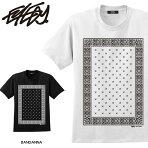 大きいサイズメンズTシャツ半袖TシャツXLXXLXXXL半袖TシャツデザインプリントTシャツ半袖かっこいいおしゃれ人気安いブランドビッグサイズ西海岸ワーク系ルード系ストリート系アメカジ白ブラック黒バンダナペイズリー