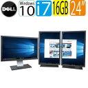 24型フルHD液晶 ディスプレイ 3画面 DELL 7010SF Core i7 3770 3.4GHz 大容量16GB HDD500GB DVDマルチ Windows10 Home…