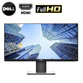 ポイントアップ キャンペーン 液晶モニター 中古 HDMI 24インチ 23.8インチ ワイド液晶 ディスプレイ 現行モデル DELL プロフェッショナルシリーズ P2419H フルHD 極薄ベゼル 液晶モニタ 画面回転 高さ調整 チルトVESA R-t-22w