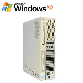 中古パソコン デスクトップ NEC Mate MY30AE-8 Core2 Duo E8400 DVD-ROM WindowsXP Pro R-d-488