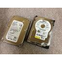 中古PCパーツ 3.5インチ SATA HDD 500GB ハードディスク 内蔵 2台 westerndigital Seagate 製など HDD-500gb-2 10249457