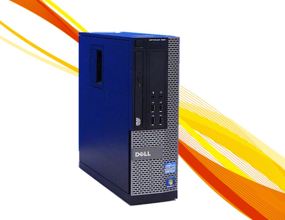 中古パソコン デスクトップ メモリ16GB搭載 DELL 790SF Core i3 2100 3.1GHz DVDマルチドライブ 64bit Windows7Pro GeForce GT710(HDMI) /限定品 /R-dg-131 /中古