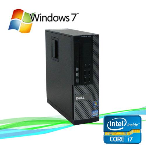 中古パソコン DELL 7010SF Core i7 3770 3.4GHz メモリー8GB DVDマルチ 500GB 64Bit Windows7Pro /R-d-292 /USB3.0対応 /中古