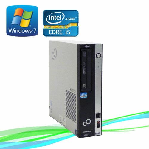 中古パソコン ノートンセキュリティ付 /富士通 ESPRIMO D751 /Core i5 2400 3.1GHz /メモリ4GB /Windows7 Pro /R-d-285 /中古