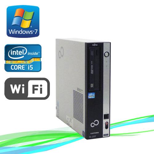中古パソコン 無線LAN対応 富士通 ESPRIMO D751 Core i5 2400 3.1GHz メモリ2GB Windows7 Pro /R-d-294 /中古