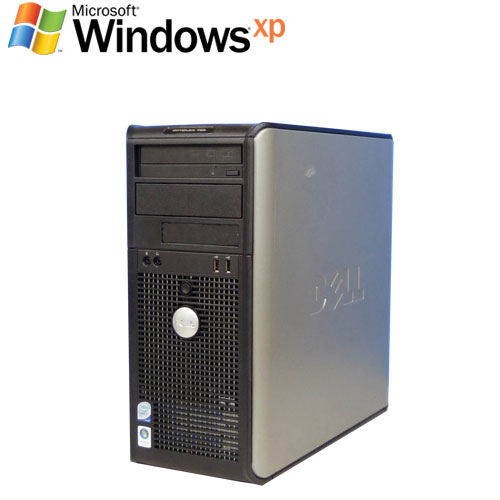 中古パソコン DELL Optiplex 755MT Core2Duo E6550 2.33GHz 2GB 160GB WindowsXP Pro /R-d-267/中古