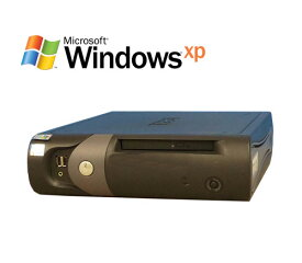 エントリー後、楽天カード決済でポイント最大13倍!6/21 20時から DELL Optiplex GX280SF Pentium4 2.8GHz 1GB 80GB DVD-ROM WindowsXP Pro R-d-442 中古 中古パソコン デスクトップ
