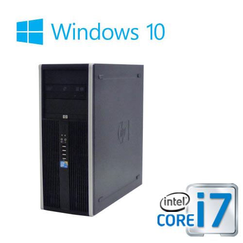 中古パソコン デスクトップ HP8300MT Core i7 3770 3.4G 大容量メモリ16GB HDD新品2TB DVDマルチ Windows10 Pro 64bit 0930aR USB3.0対応 中古