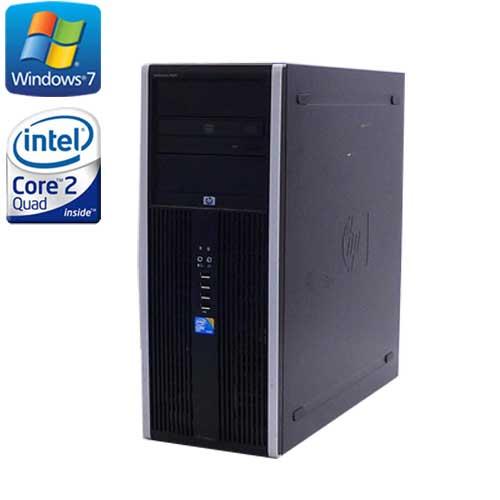ゲーミングpc 中古 デスクトップ HP 8000 MT /Core2 Quad Q9650(3.0) /メモリ8GB /HDD(新品)2TB /DVDマルチ /Geforce GTX1050 / Windows7Pro 64Bit / /R-dg-132 /中古