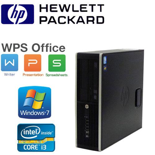中古パソコン デスクトップ 64Bit Windows7 Pro Core-i3 3220(3.3GHz) メモリー8GB DVDマルチ HP Compaq 6300SF /R-d-293-2 /中古
