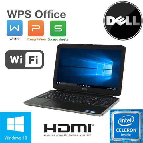 限定品 訳あり特価商品 Celeron B840(1.9GHz) Windows10 Home 64Bit MAR DELL Latitude E5520 15.6液晶 A4 メモリ4GB HDD250GB DVD-ROMドライブ 無線LAN WPS_Office 中古 ノートパソコン ノートPC TK-164402