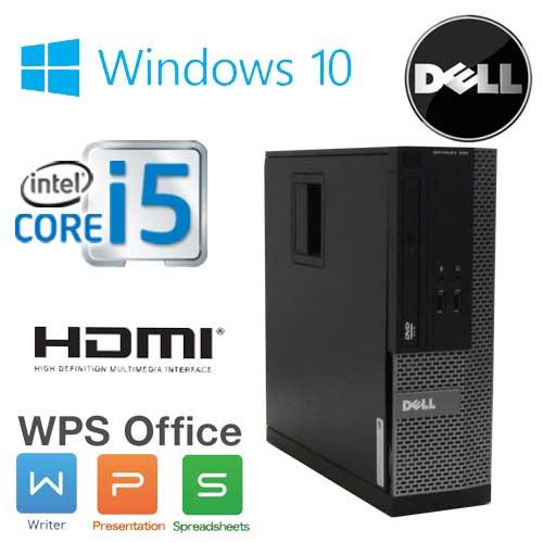 中古パソコン デスクトップ DELL Optiplex 3010SF Core i5 3470(3.2GHz) HDMI メモリ2GB HDD250GB DVD-ROM WPS Office Windows10 Home 64bit(MAR) /1625a-6R /中古