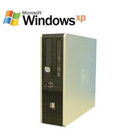 エントリーして楽天カード決済がお得!ポイント最大11倍!6/4 20時から! HP dc7800SFF Core2 Duo E6550 2.33GHz DVD-ROM WindowsXP Pro R-d-082 中古 中古パソコン デスクトップ