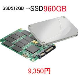 エントリーして楽天カード決済がお得!ポイント最大11倍! 512GB SSDを 新品 960GB SSD に組み替えます当店512GBSSD搭載PC同時購入者様専用オプション