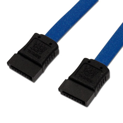 アイネックス SAT-3003BL シリアルATAケーブル ブルー 30cm