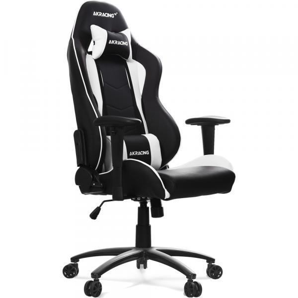 【Gaming Goods】AKRacing Nitro Gaming Chair (White) 人間工学に基づき設計されたゲーミングチェア ホワイト