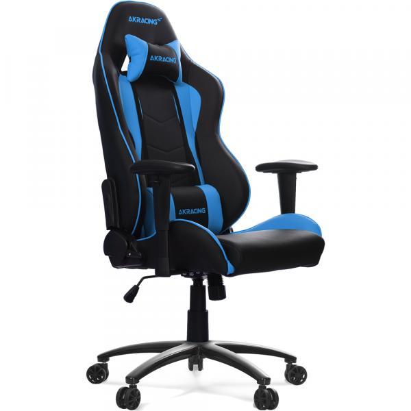 【Gaming Goods】AKRacing Nitro Gaming Chair (Blue) 人間工学に基づき設計されたゲーミングチェア ブルー