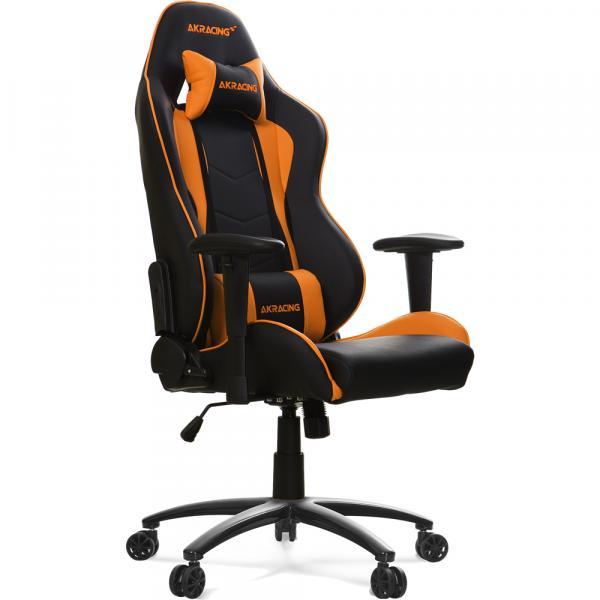 【Gaming Goods】AKRacing Nitro Gaming Chair (Orange) 人間工学に基づき設計されたゲーミングチェア オレンジ
