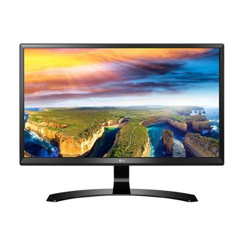 LG 24UD58-B 23.8インチIPS 4Kモニター IPS 非光沢/ブラック/HDMI2.0×2