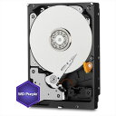 Western Digital WD20PURZ [2TB/3.5インチ内蔵ハードディスク] WD Purple / SATA 6Gb/s / 5400rpm / 監視システム向け…
