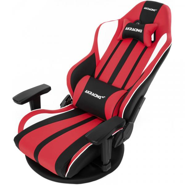 【Gaming Goods】AKRacing 極坐 V2 Gaming Floor Chair(Red) GYOKUZA/V2-RED レッド 座椅子タイプモデルのアップデート版