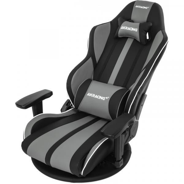 【Gaming Goods】AKRacing 極坐 V2 Gaming Floor Chair(Grey) GYOKUZA/V2-GREY グレイ 座椅子タイプモデルのアップデート版