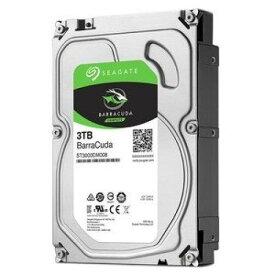 Seagate ST3000DM007 [3TB/3.5インチ内蔵ハードディスク] BarraCuda/ SATA 6Gb/s接続 /2TBプラッタ採用/バルク品(安心の10ヶ月間保証)