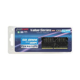 CFD D4N2400PS-8G [DDR4-2400/8GB x1枚] ノート用メモリ Panram社の高品質メモリモジュール