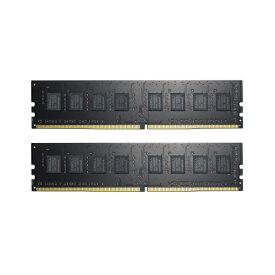 G.SKILL F4-2666C19D-16GNT [DDR4-2666/8GB x2枚] デスクトップ用メモリ Value シリーズ