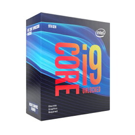 Intel Core i9 9900KF BOX BX80684I99900KF [3.60GHz/8C/16T/LGA1151] GPU非搭載CPU 第9世代インテルCore i9プロセッサー