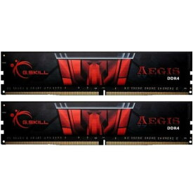 G.SKILL F4-2666C19D-32GIS [DDR4-2666/16GB x2枚] デスクトップ用メモリ Aegis DDR4シリーズ